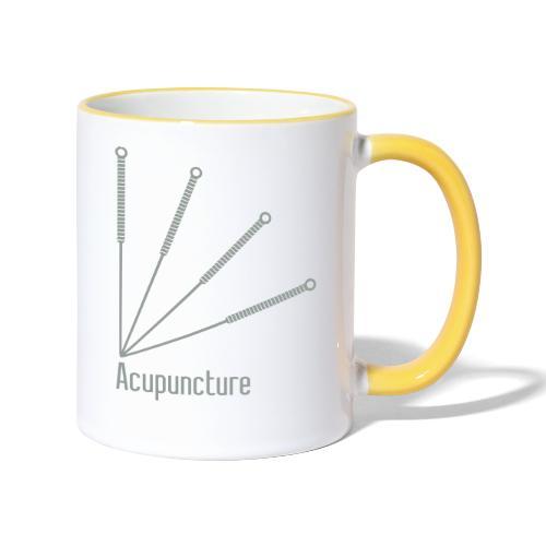Acupuncture Eventail vect - Mug contrasté