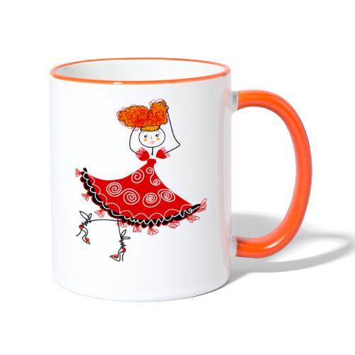 Ballerina - Tazze bicolor