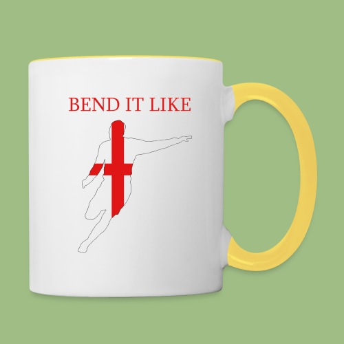 Bend It Like DavidBeckham - Tvåfärgad mugg