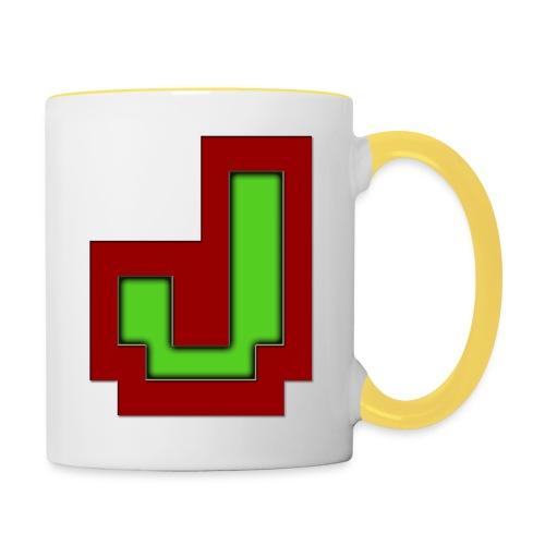 Stilrent_J - Tofarvet krus