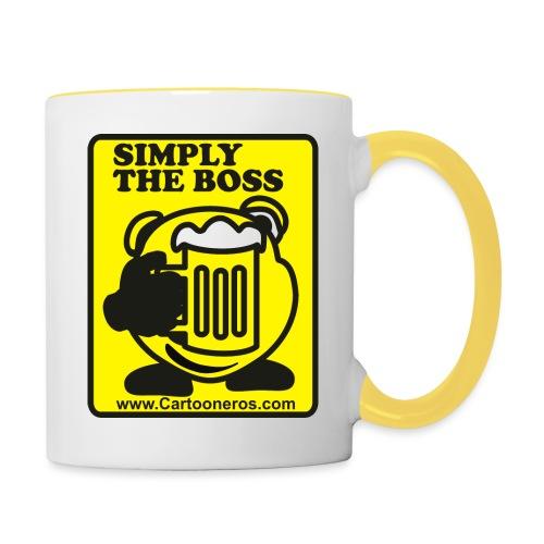 Simply the Boss - Contrasting Mug