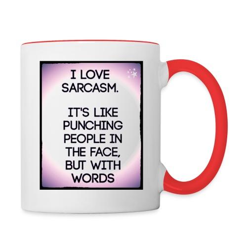 SARCASM - Mok tweekleurig