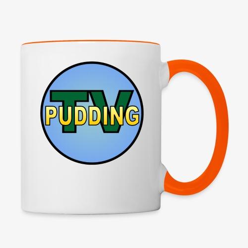 Pudding-TV Logo - Tofarget kopp