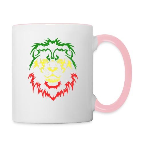 KARAVAAN Lion Reggae - Mok tweekleurig