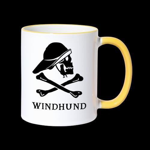 ~ Windhund ~ - Tasse zweifarbig