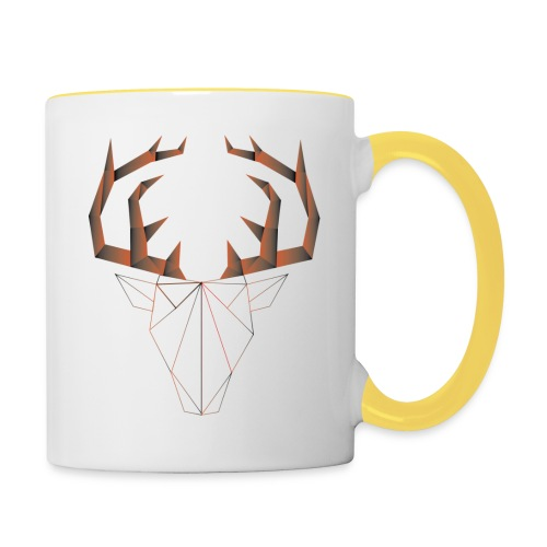 LOW ANIMALS POLY - Mug contrasté