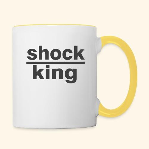 shock king funny - Tazze bicolor