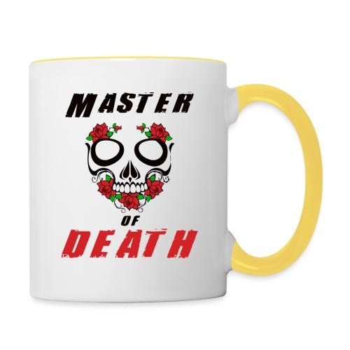 Master of death - black - Kubek dwukolorowy