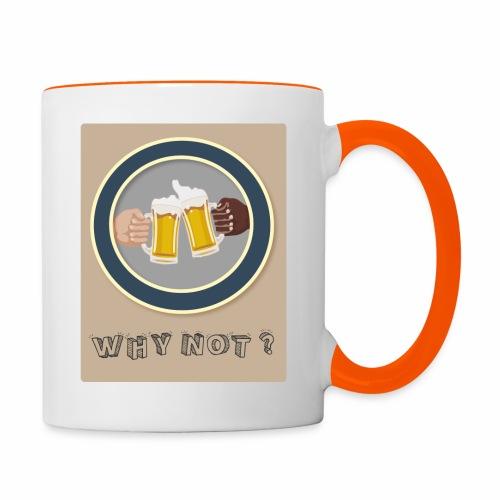WHY NOT ? (WN) - Mug contrasté
