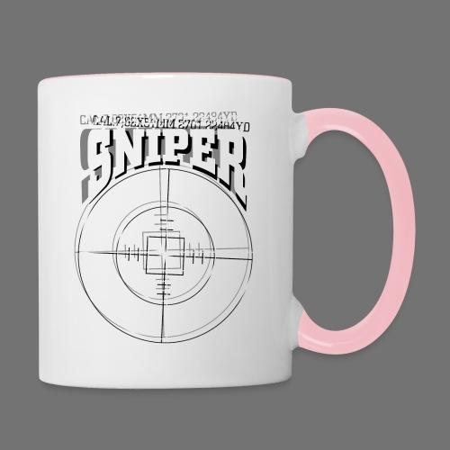 Sniper (white) - Tasse zweifarbig