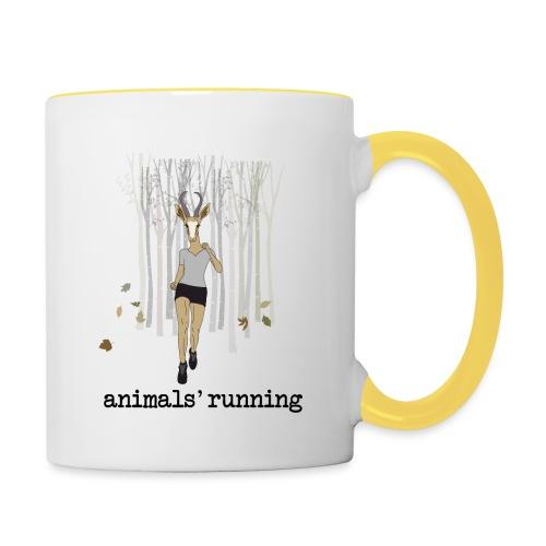 Antilope running - Mug contrasté