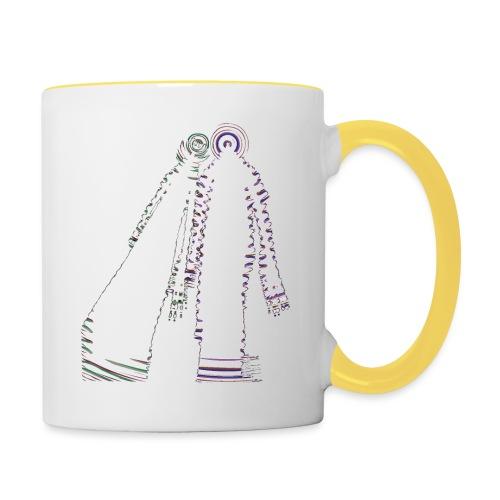 fatal charm - hi logo - Contrasting Mug