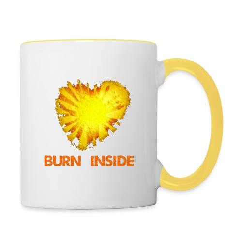 Burn inside - Tazze bicolor
