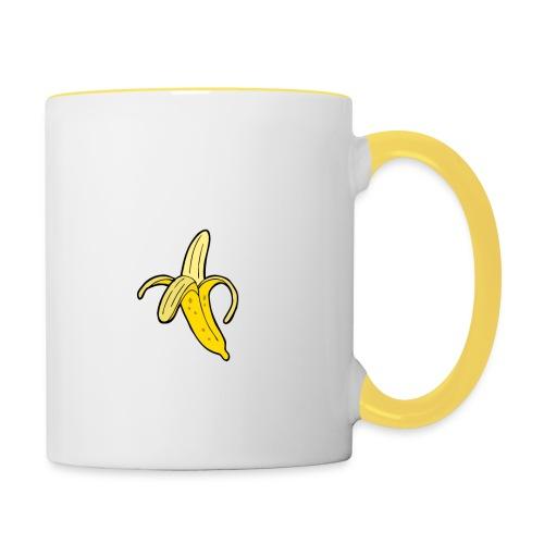 banane - Mug contrasté