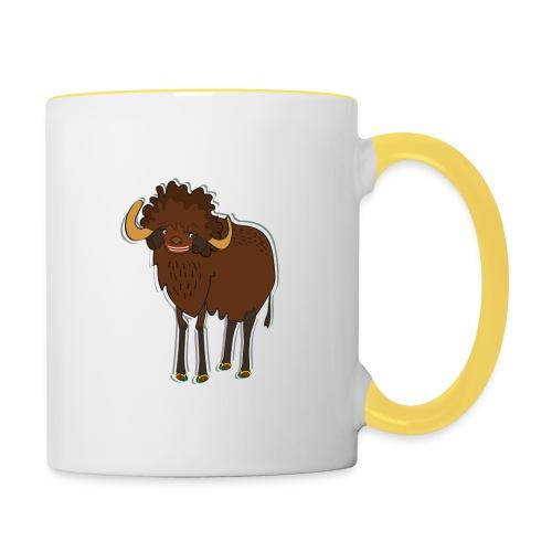La bufala brasiliana - Tazze bicolor