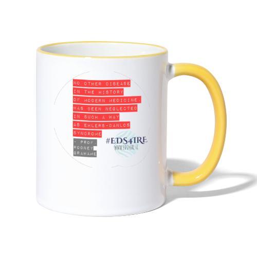 Rodney Grahame Quote #EDS4IRE - Contrasting Mug