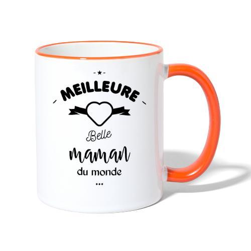 Meilleure belle maman du monde - Mug contrasté