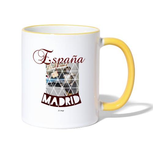 España madrid - Taza en dos colores