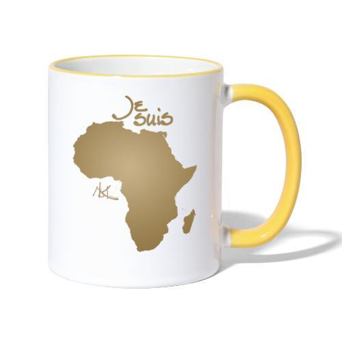 Je suis Afrique / Je suis Aklaaa - Mug contrasté