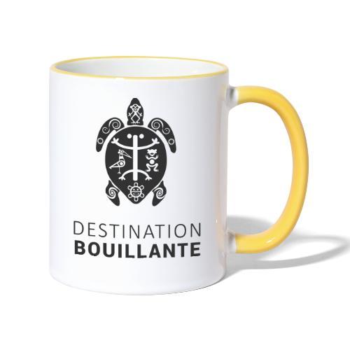 Destination Bouillante simple - Mug contrasté