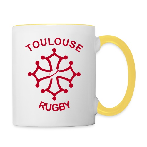 Toulouse Rugby - Mug contrasté