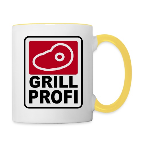 Grill Profi - Tasse zweifarbig
