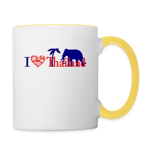 I love Thailand - Contrasting Mug