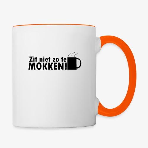 De Mok Mok - Mok tweekleurig