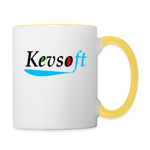 Kevsoft - Contrasting Mug