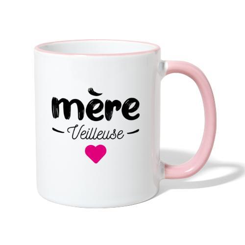 Mere veilleuse - Mug contrasté
