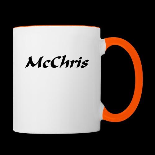 MCCHRIS - Tasse zweifarbig