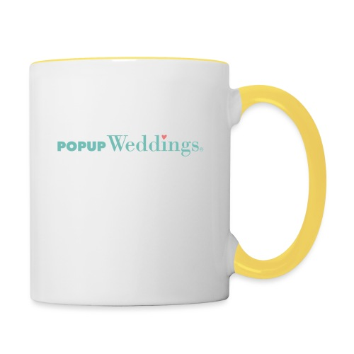 Popup Weddings - Contrasting Mug