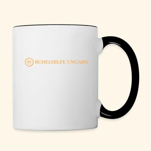 Rudelhilfe Logo - Tasse zweifarbig