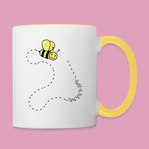 Bzzz les abeilles ! (Tasses) - Mug contrasté