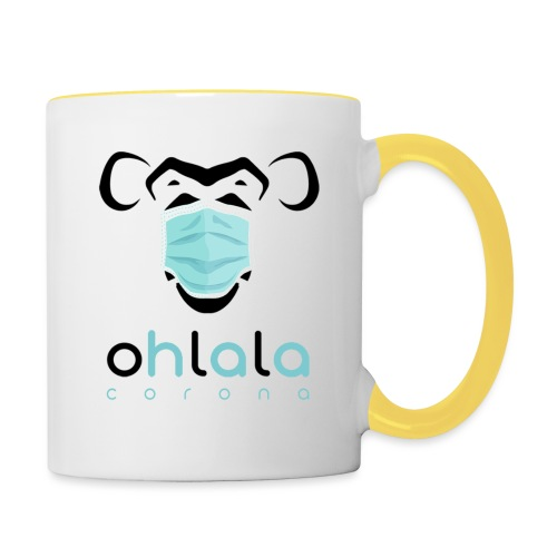 OHLALA CORONA WHITE - Mug contrasté