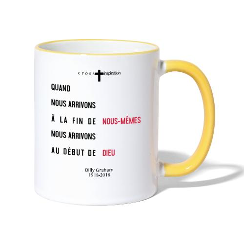 Billy Graham 1918 2018 - Mug contrasté