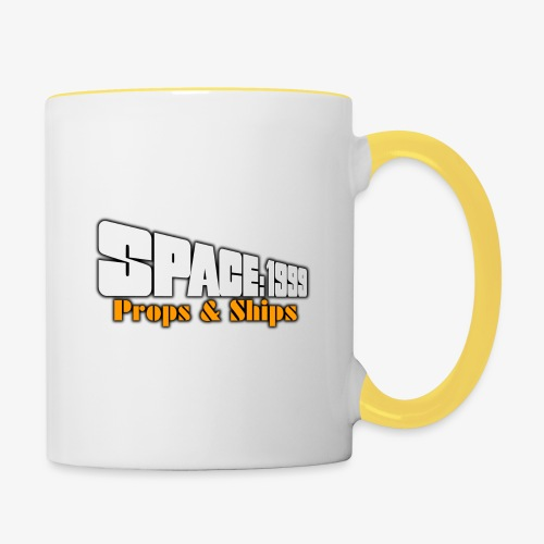 Space 1999 Props and Ships FB logo Small 2 sided - Contrasting Mug