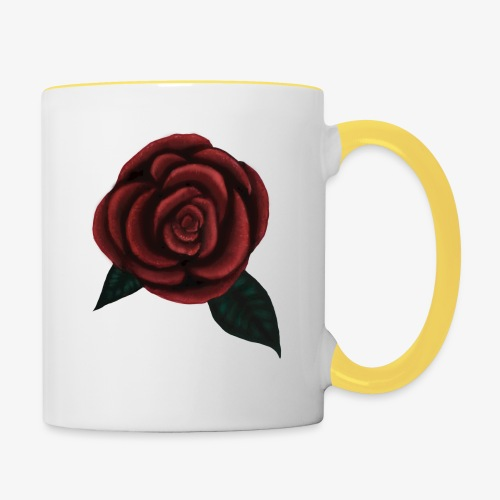One rose - Tvåfärgad mugg