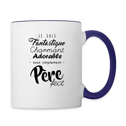 Pere fect - Mug contrasté