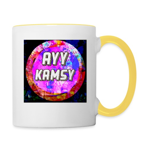 AyyKamsy Logo Accesorie - Contrasting Mug