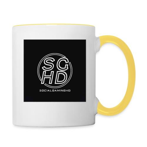SocialGamingHD merch - Contrasting Mug