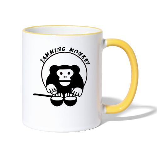 Jamming Monkey - Mug contrasté