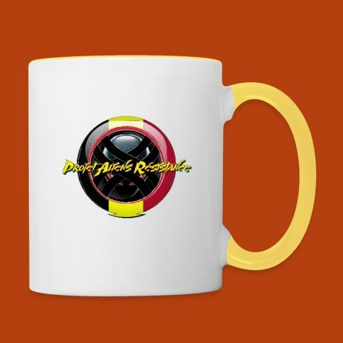 Logo Projet Aliens Résistance - Mug contrasté