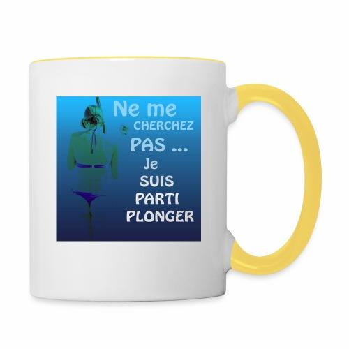 Parti Plonger - Mug contrasté