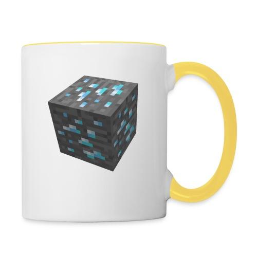 BLOCK DE DIAMANT MINECRAFT - Mug contrasté