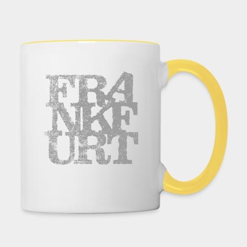 Frankfurt - Tasse zweifarbig