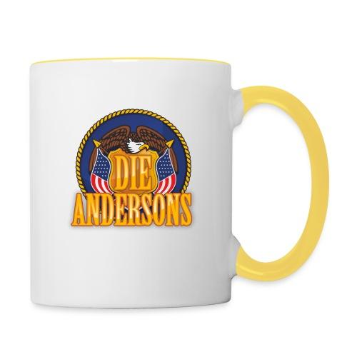 Die Andersons - Merchandise - Tasse zweifarbig