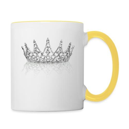 Queen Crown design - Contrasting Mug