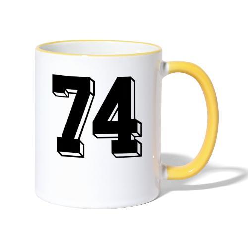 Football 74 - Contrasting Mug