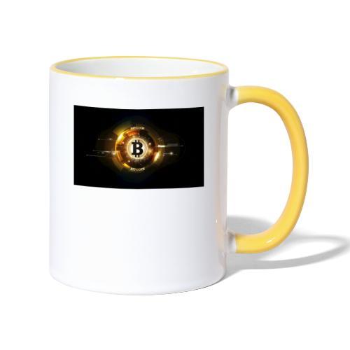 Accessoires bitcoin fun - Mug contrasté